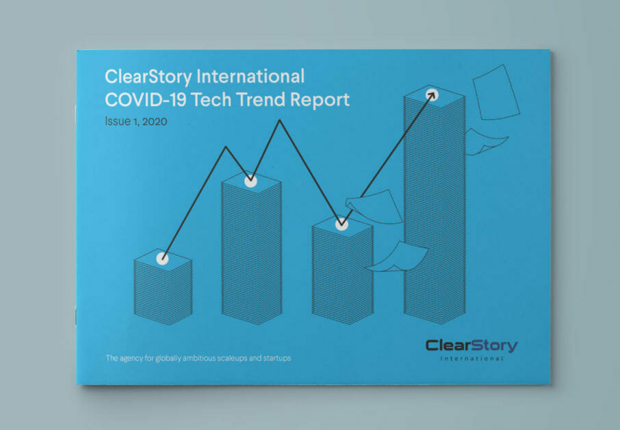 ClearStory COVID-19 report tech trends cover